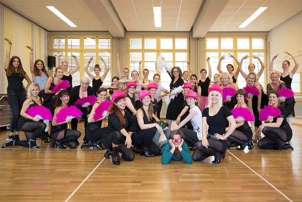 """Veranstaltungstipp: Tanz-Show BURLESQUE """"La vie en rose"""" am 24. & 25.10. im Dreispitz Kreuzlingen"""