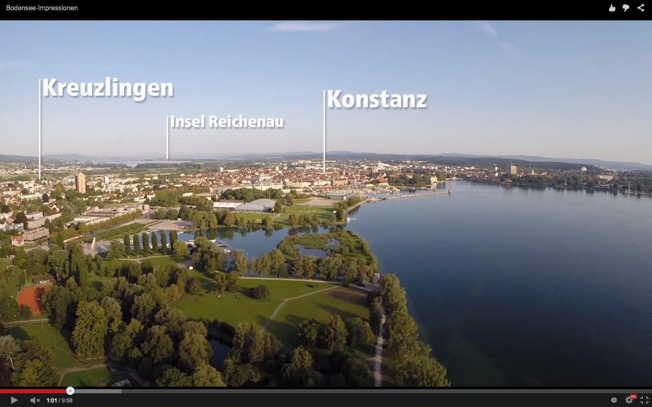 Bodensee-Impressionen aus der Luft